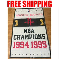 Houston Rockets Champions Flag NBA Basketball Banner 3X5 ft 2 Gromments