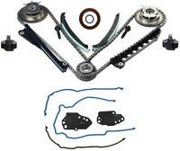 Timing Chain Kit Cam Phaser Cover Gasket For Ford F150 Lincoln 5.4 TRITON 3V V8