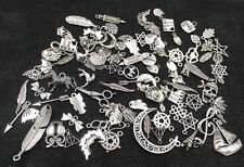 Steampunk Small Bracelet Necklace Jewelry Metal Crafting Charms Pendant Bulk Lot