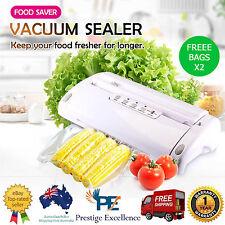 Maxkon Vacuum Food Saver Preservation Heat Sealer Storage with Free 3M Bag Rolls