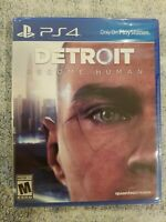 Detroit Become Human - PlayStation 4 PS4  ***NEW FACTORY SEALED*** FREE S/H