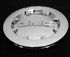 "1 NEW 2007-2014 GMC Sierra 1500 Yukon Denali XL CHROME CENTER CAP FITS 20"" WHEEL"
