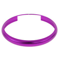 Smart Key Fob Ring Rim Trim Cover Replacement Fit For BMW Mini Cooper Purple