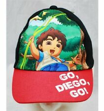 Baseball Cap - Go, Diego, Go! Cap - Forest (Red) (Youth/Kids) New Hat
