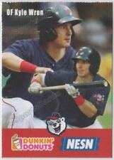 2018 Pawtucket Red Sox Dunkin Donuts SGA Kyle Wren RC Rookie