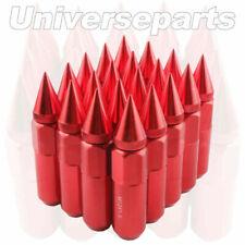 20Pcs /Set Wheel Lug Nuts Red 60mm M12 X 1.5mm Arrow Style Racing for HONDA FORD