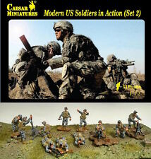 Caesar Miniatures 1/72 Modern U.S. Soldiers In Action - Set 2 # 094