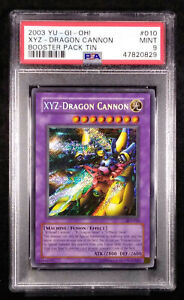 PSA 9 XYZ Dragon Cannon BPT-010 YU-GI-OH Mint Card Promo 2003