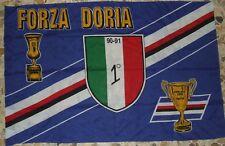 SCIARPA SCARF BANDIERA FLAG CALCIO ULTRAS SAMPDORIA SCUDETTO 90'S (643)