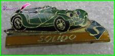 """Pin's Voiture de sport Car vert green  """" SOLIDO """"    #H5"""