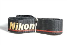 Nikon Professional Black / Red / Gold Camera Neck Strap