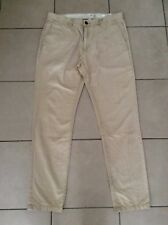H&M  L.O.G.G.     Slim fit   Chino Pants     Beige     Size 36