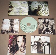 SHERYL CROW Hard to Make a Stand w/ UNRELEASED & LIVE w/ PHOTO CARDS CD single