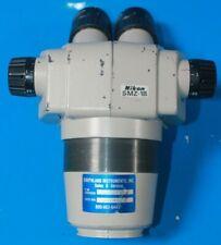 Nikon Smz 1b Stereozoom Microscope Head Mag 8