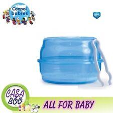 FORNO a microonde sterilizzatore a vapore per bottiglie Canpol Babies BPA libero