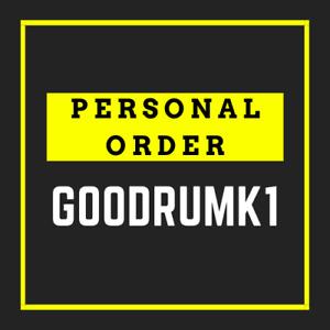 PERSONAL ORDER for goodrumk1