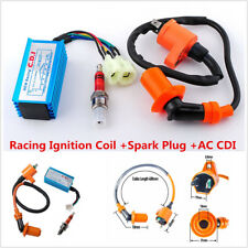 6Pins Racing Ignition Coil Spark Plug CDI For GY6 50cc-150cc Scooter Go Kart ATV