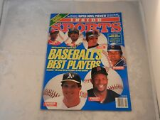 INSIDE SPORTS MAGAZINE FEBRUARY 1992 - BASEBALL'S BEST PLAYERS