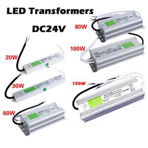 DC24V IP67 Waterproof LED Driver Power Supply LED Transformer for Strip Lighting