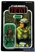 Princess Leia Organa (In Combat Poncho)   Star Wars Saga Collection   UNPUNCHED