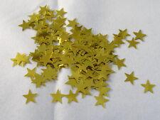 100 Sterne  Streuelemente Streudeko  Kartengestaltung  Basteln 10mm  Gold