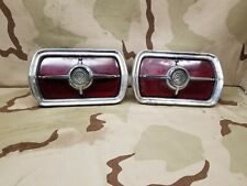 1965 65 Ford Galaxie 500 FoMoCo OEM Taillight Buckets Assembly Lens OEM