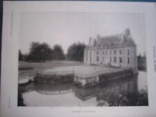 Chateau de Missy (Noyers Bocage, Calvados). 4 Fotodrucke ca. 1905