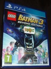 LEGO Batman 3 Beyond Gotham Playstation 4 PS4 NEW SEALED FREE UK p&p UK SELLER
