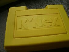 Genuine K'NEX Storage Box Case In YELLOW 35 x 25 x 10cm EMPTY