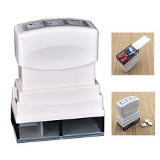 1X Tablet Pill Medicine Crusher Grind Grind Splitter Cutter Safe Organize Box BB