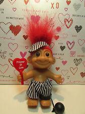 "PRISONER OF LOVE - 5"" Russ Troll Doll - NEW IN ORIGINAL WRAPPER - Red Hair"