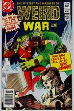 WEIRD WAR TALES  # 123 DC ALIEN CONQUEST!!!!