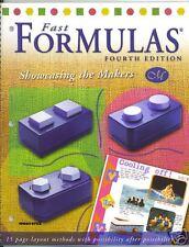 Creative Memories Fast Formulas 4th Ed. Idea Book NLA