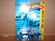 HW HOT WHEELS 07 FIRST EDITION FE #13 SKY KNIFE HELICOPTER BLUE HOTWHEELS VHTF