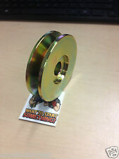 NEW Single Groove Alternator V Belt Pulley FORD & Chevy Chevelle Camaro Nova