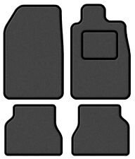 Maserati 4200 GT 05-05 Super Velour Dark Grey/Black Trim Car mat set