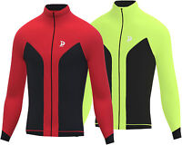 Soft shell Wind Stopper Road Bike Cycling Jacket Top Thermal Full Sleeve Jacket