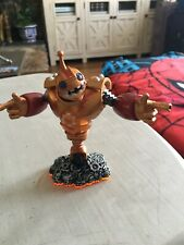 Skylanders - Giants - Figure - orange base - Tech - Bouncer - red & gold robot