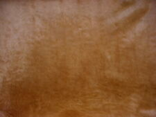GROUNDWORKS 45.0 SQ FT PECAN BROWN HAIR ON HIDE COWHIDE LEATHER UPHOLSTERY