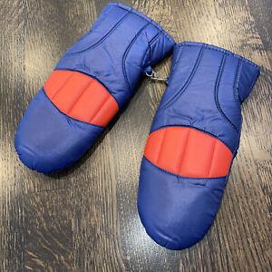 Vtg 60s 70s Ski Gloves Mittens retro Apres Ski Snow Gaper Ladies One Size Womens