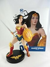 """WONDER WOMAN Statue DC Designer Series 12"""" FRANK CHO DC Collectibles with Box"""