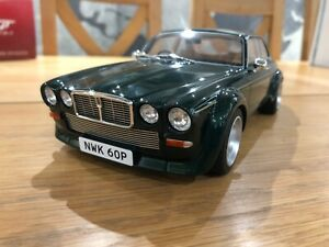 GT Spirit Jaguar XJ12 Coupe Broadspeed The New Avengers Steed 1:18 Scale