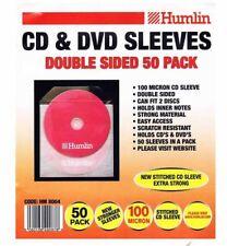 100 Humlin Manga de CD y DVD de doble cara 100 Micron posee 2 discos por Manga HM8004