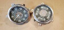 1947-1953 Chevy Pickup Truck Dash Gauges Speedometer Cluster Bat Oil Gas Temp