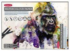 Derwent Watercolour Pad 300 gsm / 140lb - A2 (Ideal for Inktense & Artbar)
