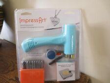 New! ImpressArt Metal Stamping Kit 3mm Uppercase Letters (2227)
