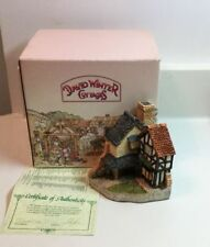 1994 David Winter Cottage 15 Lawnside Road Collectors Guild with Coa