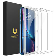 UNBREAKcable iPhone 11 / XR Screen Protector 3-Pack Tempered Glass for iPhone XR