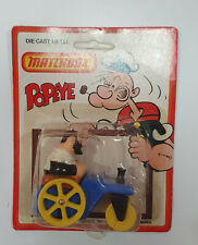 Matchbox 1980 Popeye CS-14 Bluto's Road Roller blister see condition..