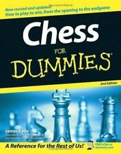 Chess for Dummies BRAND NEW BOOK, STRATEGY CHECKMATE PATTERN PLAY BOARD GAMES